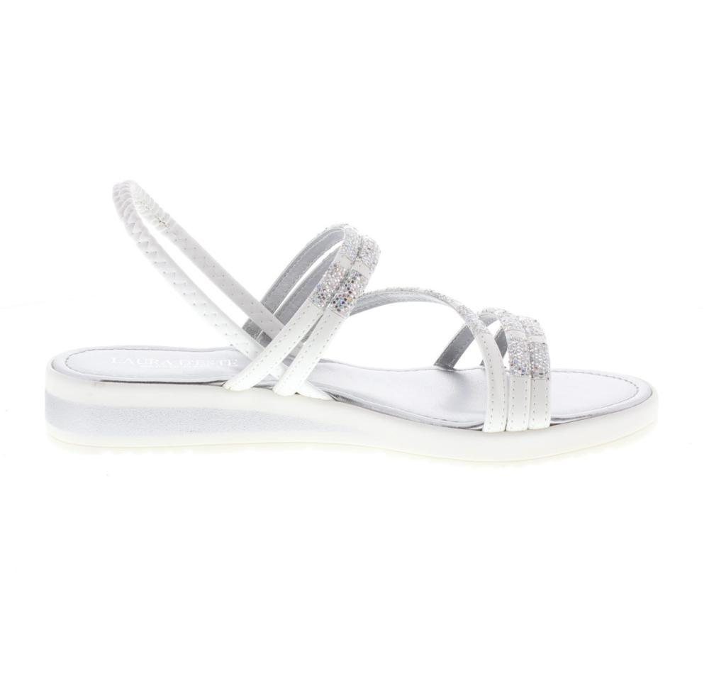 f739656c34 LAURA D'ESTE bianco Scarpe fashion donna sandalo 19710