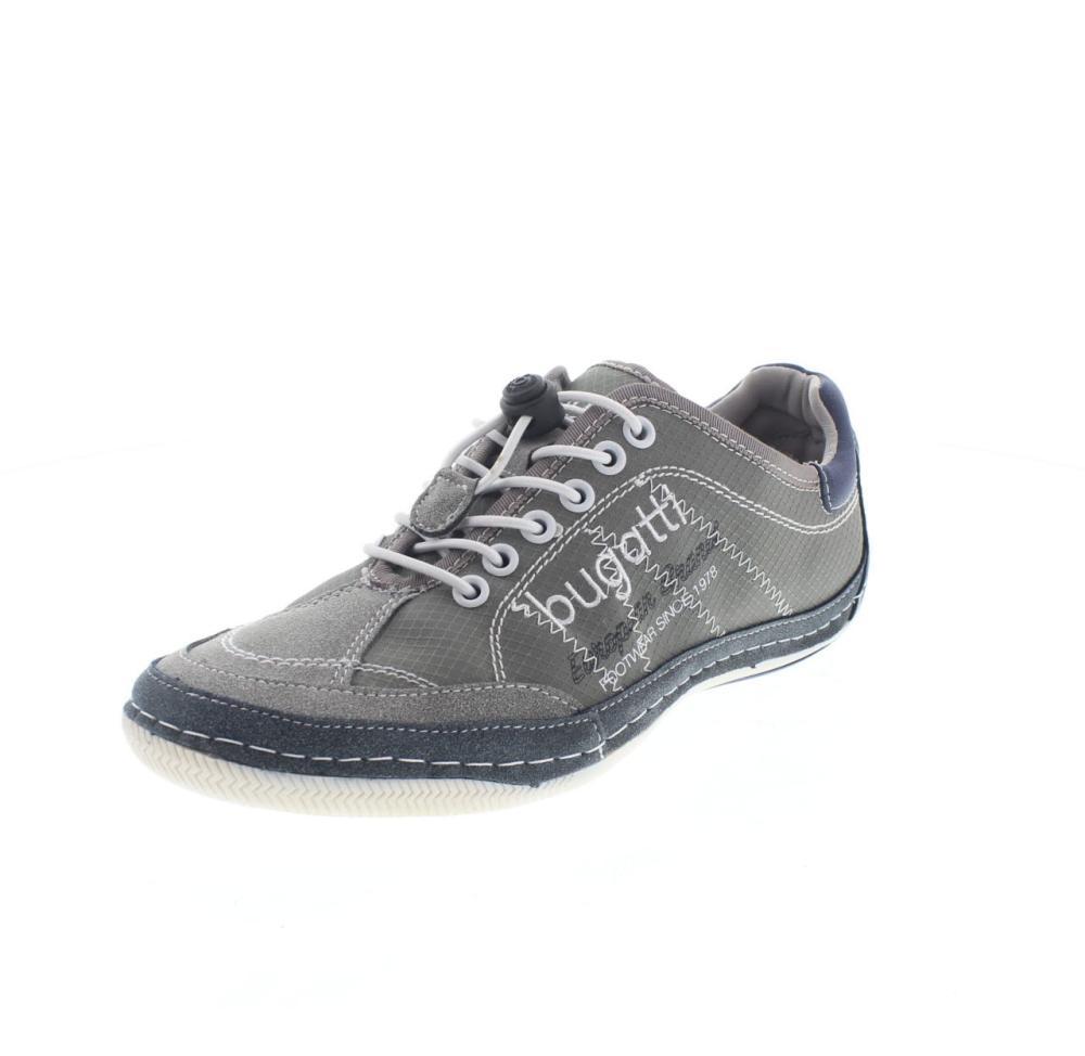 BUGATTI canario grau Schuhe casual herren mode F2460