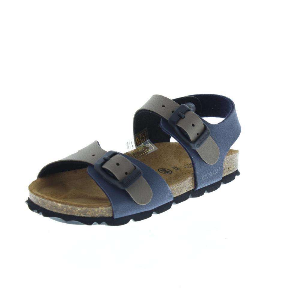 GRUNLAND JUNIOR blue Shoes indoor slipper kids slipper SB0025 2450a08182c