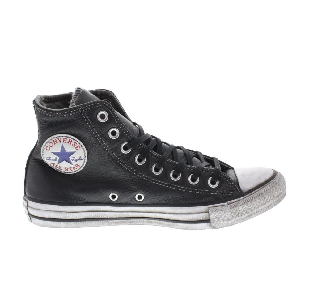 c90b5dbb35b924 CONVERSE LTD high leather black Shoes sneaker woman sport 158575C