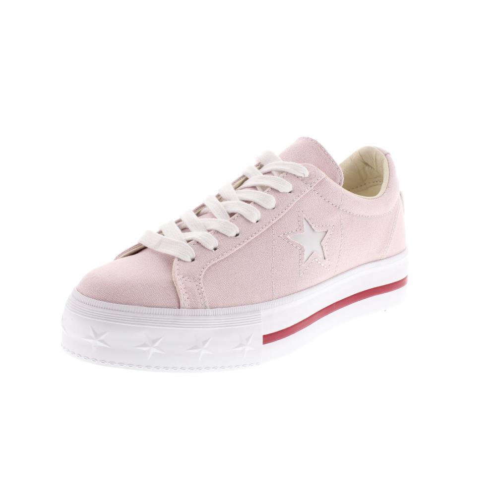 converse donna platform rosa