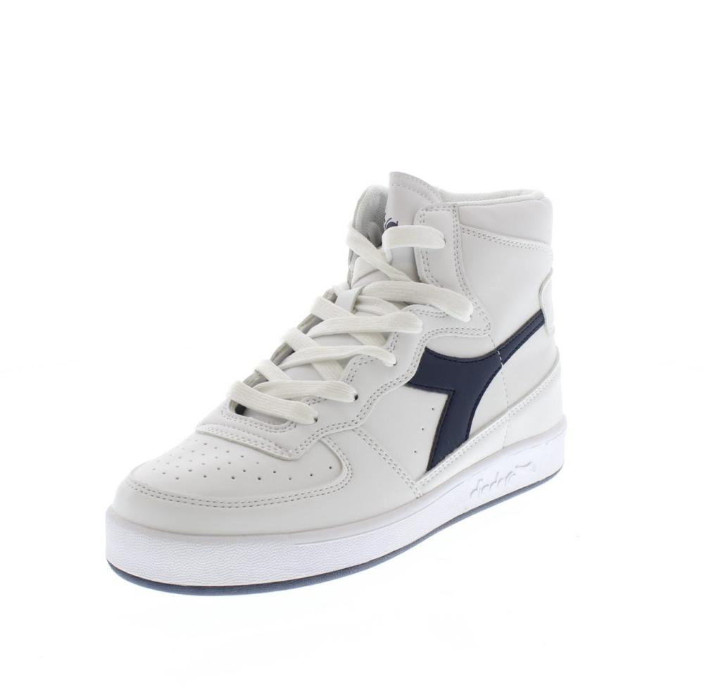 ec74253554eb DIADORA MI basket II white Shoes basket boy sport 161436