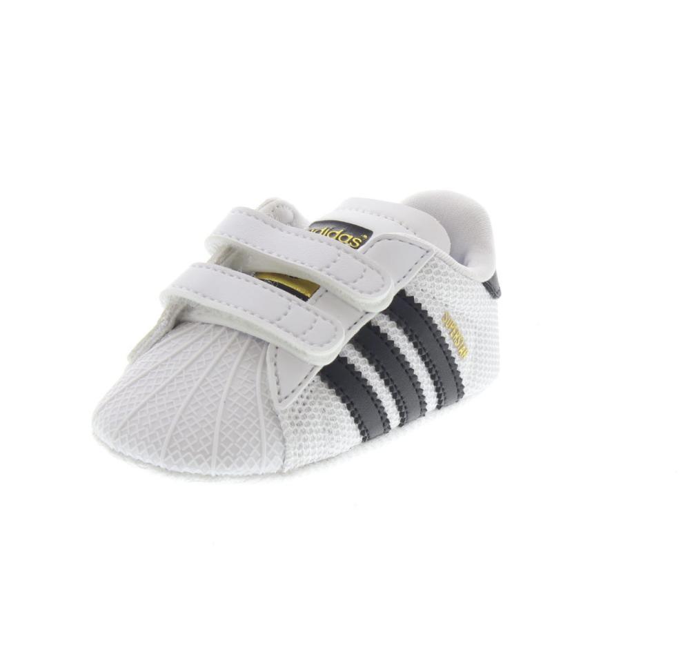 low priced fd801 98d39 ADIDAS ORIGINALS superstar crib Colour white