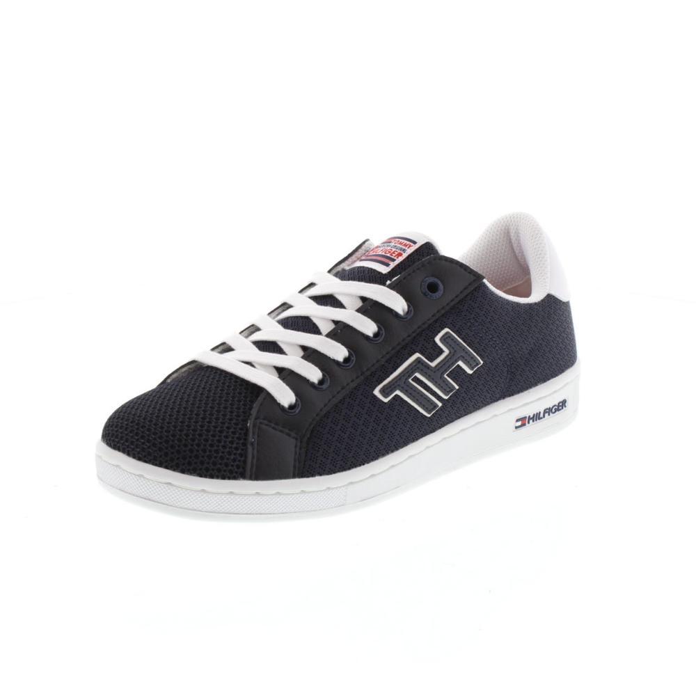 TOMMY-HILFIGER-0854-basket-1D-Calzature-Ragazzo-Moda-Casual-Sneaker