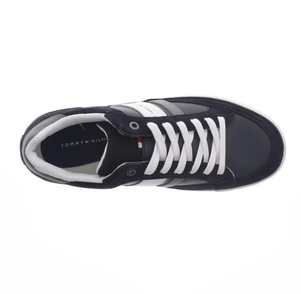 4c9795b27ca38 TOMMY HILFIGER maze 1 blue Shoes sneaker man fashion FM00353