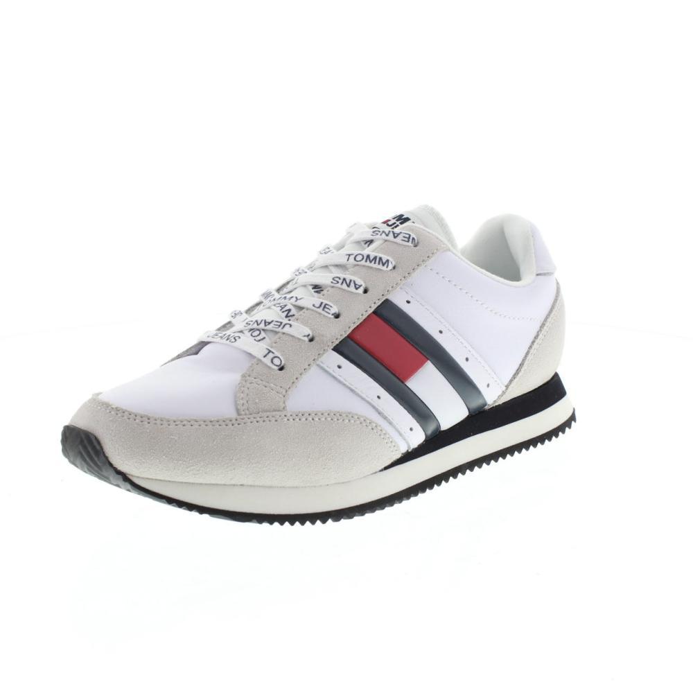 TOMMY TOMMY TOMMY HILFIGER EM0EM00123 rwb casual retro Calzature Uomo Moda Sneaker 89fdd3