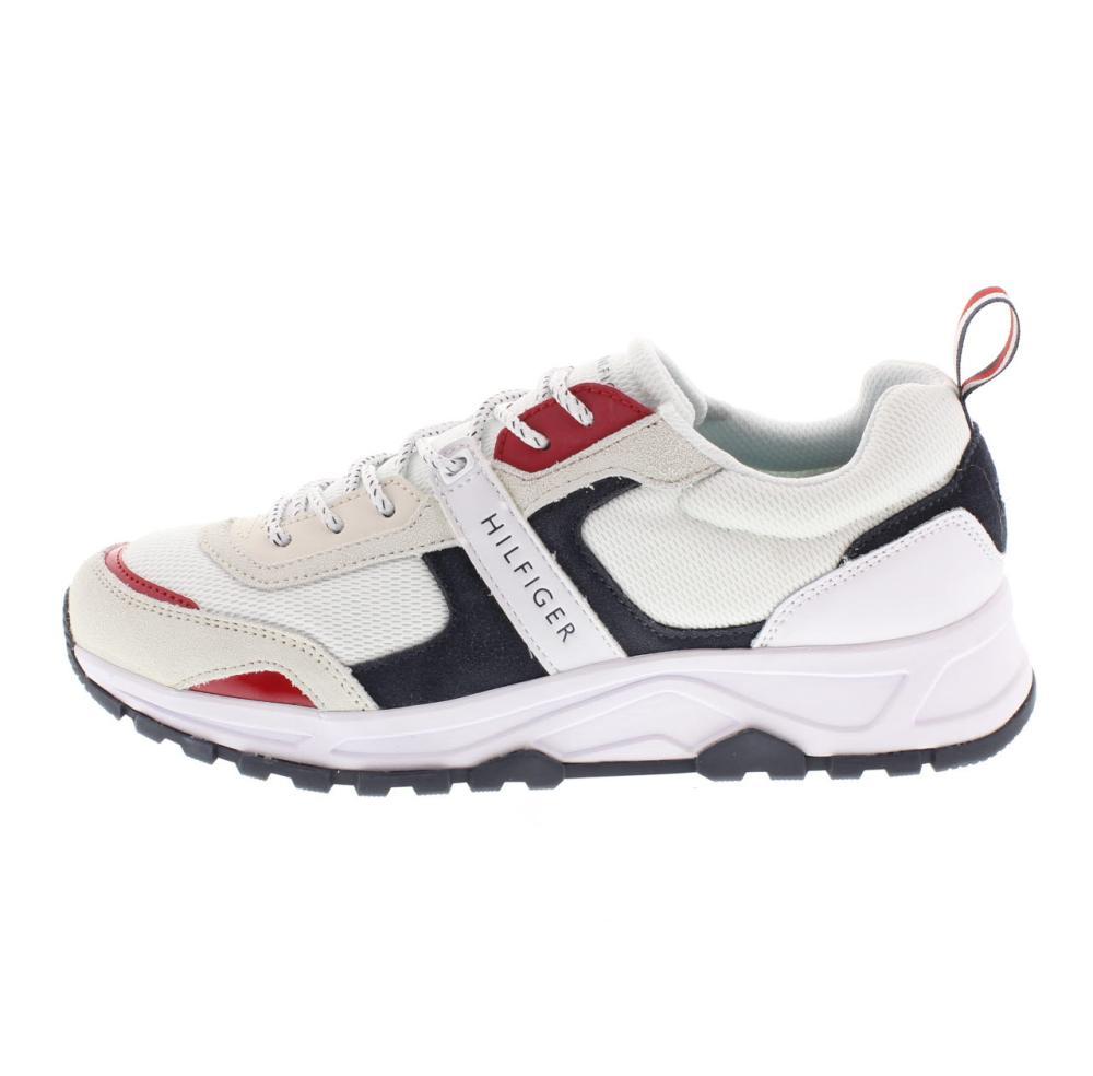 a88dfe7506b020 TOMMY HILFIGER carlo white Shoes sneaker man fashion FM0FM02027