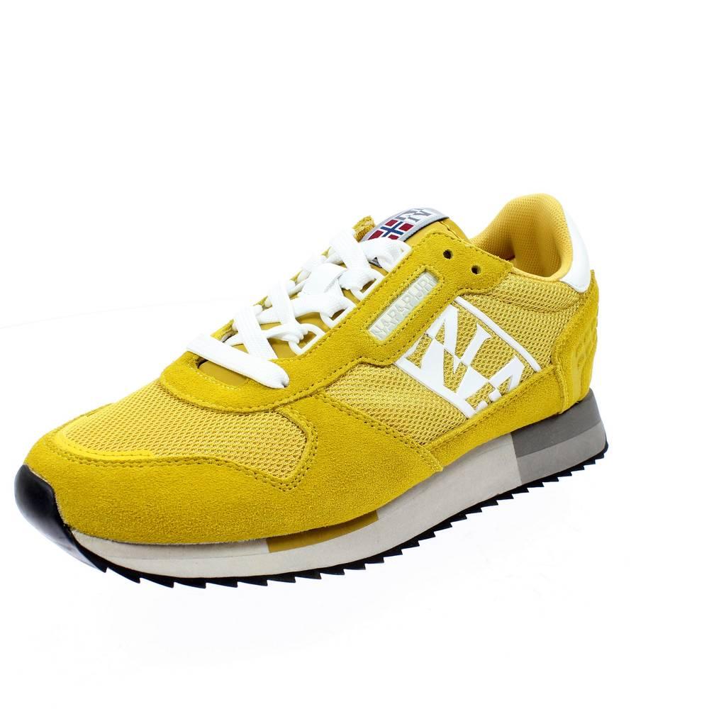 Sum Veloursleder Nylon Grau Sneaker Mann NAPAPIJRI Running Virtus SOVIRTUS01