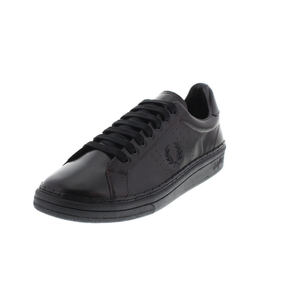 best online latest design latest discount FRED PERRY court dark brown Shoes sneaker man fashion B2085