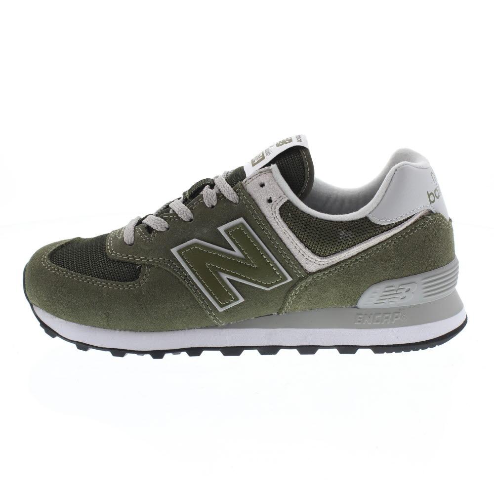 New Balance Ml 574 Suede Mesh Sneakers Uomo - Verde - 40 - ML574 - EGO