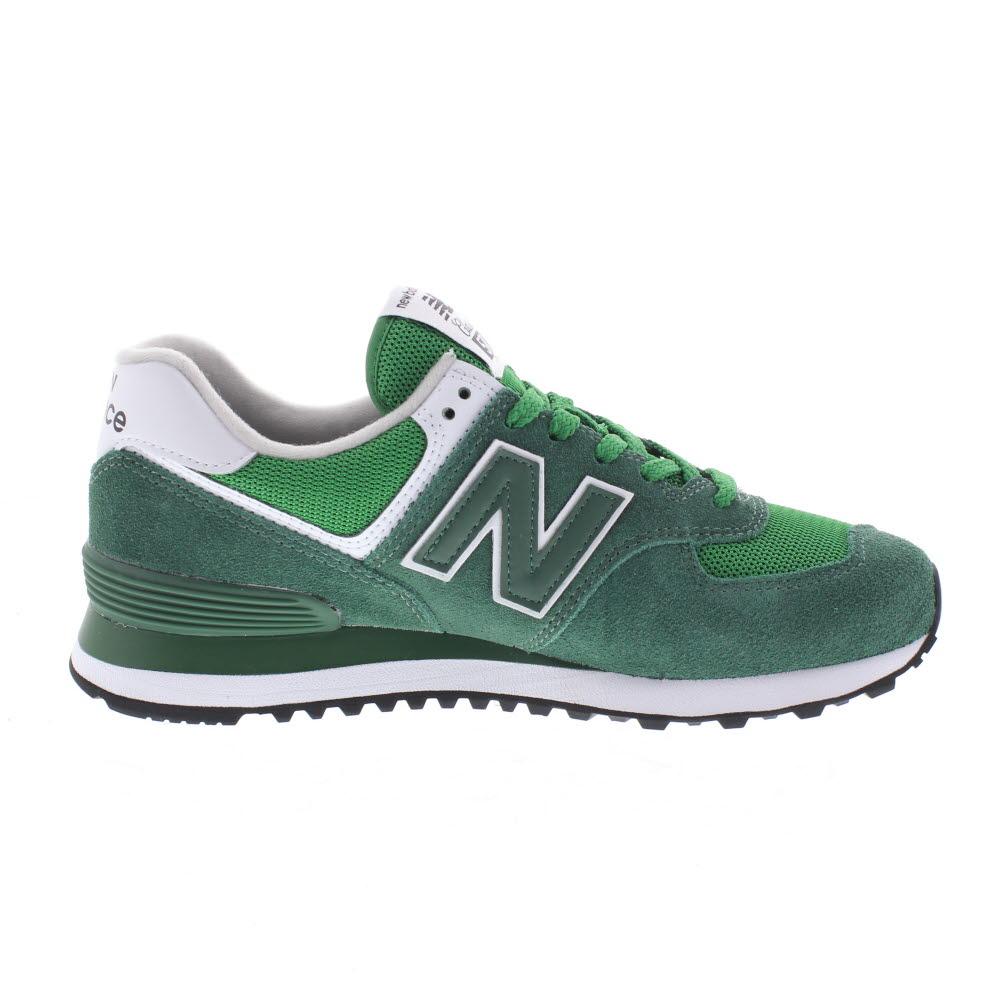 New Balance Ml 574 Suede Mesh Sneakers Uomo - Verde
