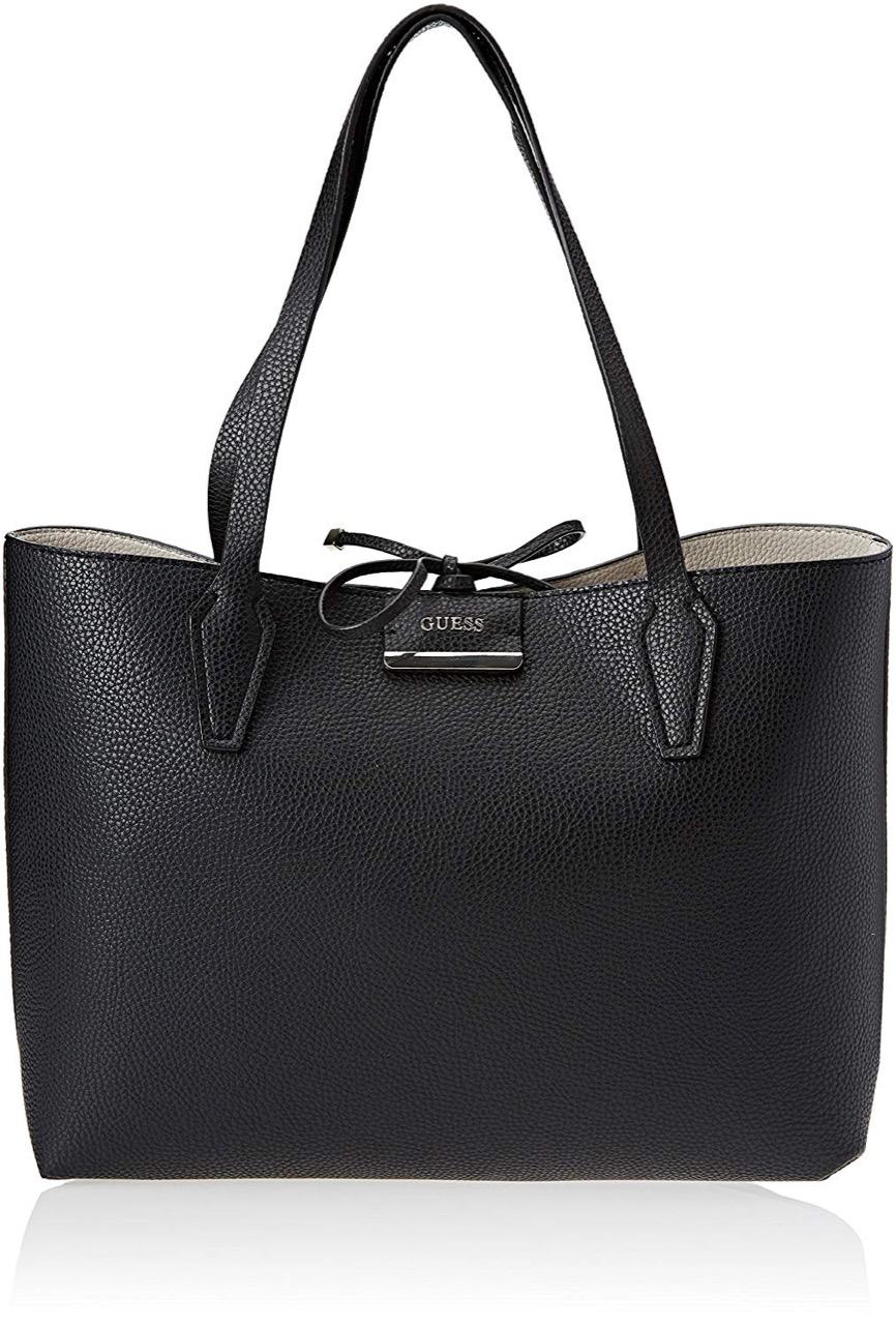3b3f71b8e5e GUESS bobbi inside out tote 42,5x27x12,5 cm black Leather goods ...