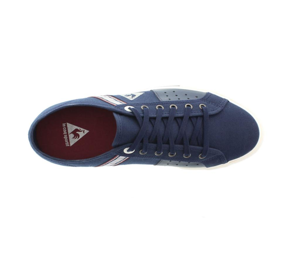 a8ed7a0ef2d0 LE COQ SPORTIF saint malo 2 blue Shoes canvas man sport shoe 1510069