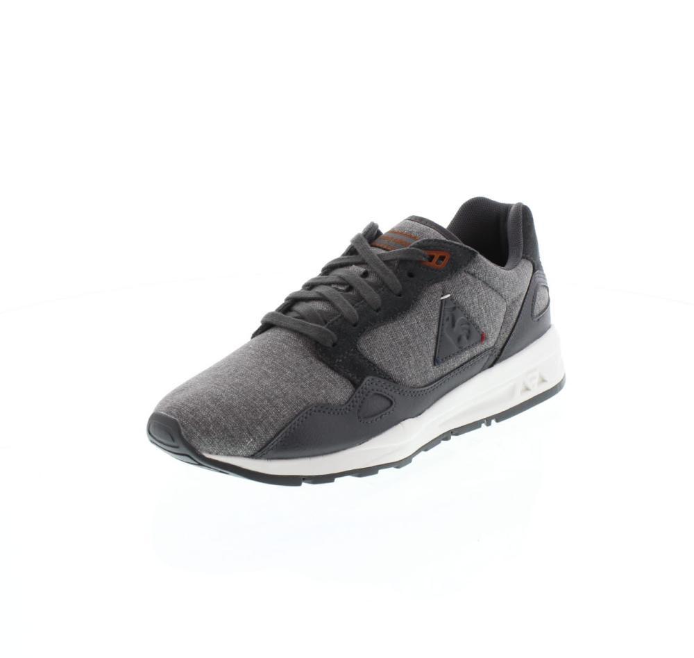 le coq sportif lcs r900 grey shoes sneaker man fashion 1610786. Black Bedroom Furniture Sets. Home Design Ideas