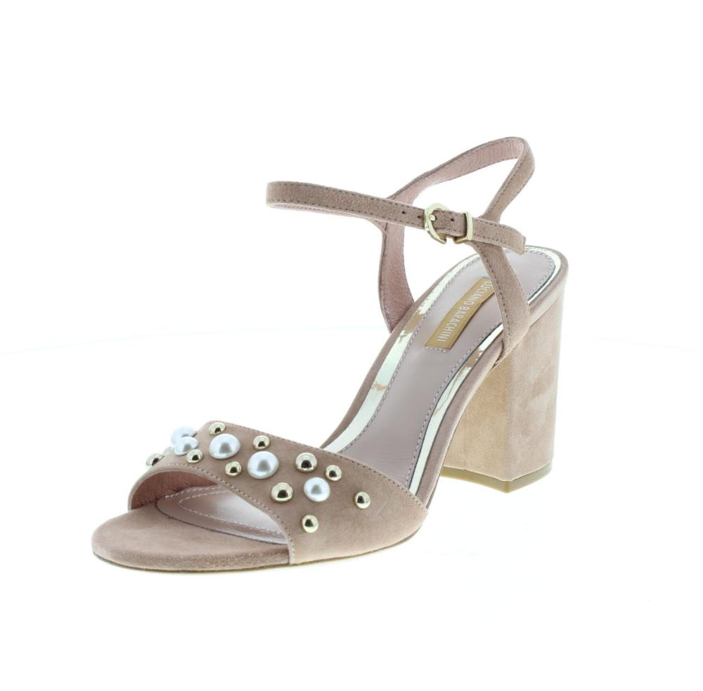 discount sale 36836 b2ced LUCIANO BARACHINI camoscio rosa Scarpe fashion donna sandalo ...