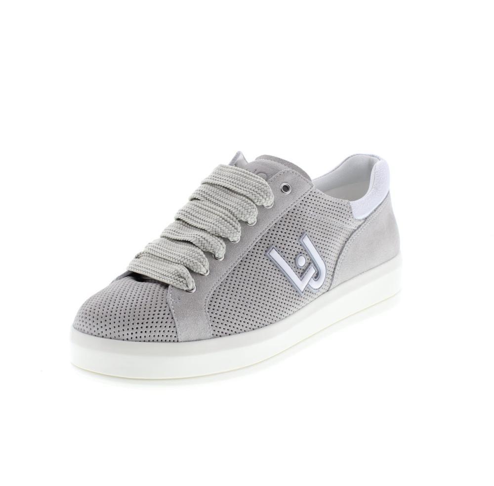 the latest 42051 85935 LIU JO SHOES kim grey Shoes sneaker woman fashion B18019 T2030