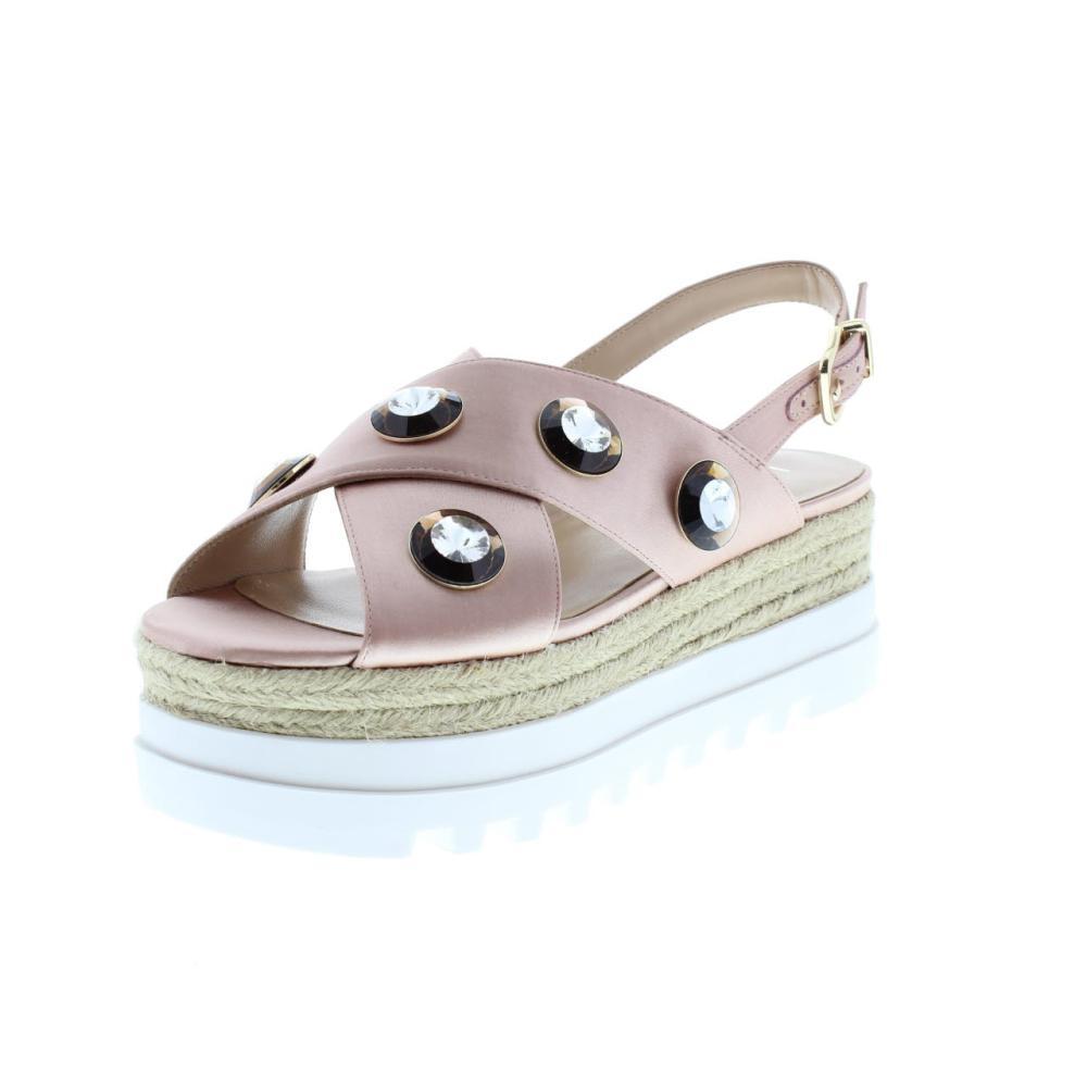 LIU JO pavone rosa Scarpe plateau donna sandalo S18065 T0380