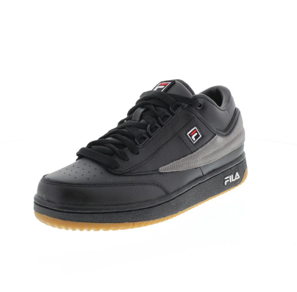 FILA T1 mid black Shoes sneaker man sport shoe 1010496