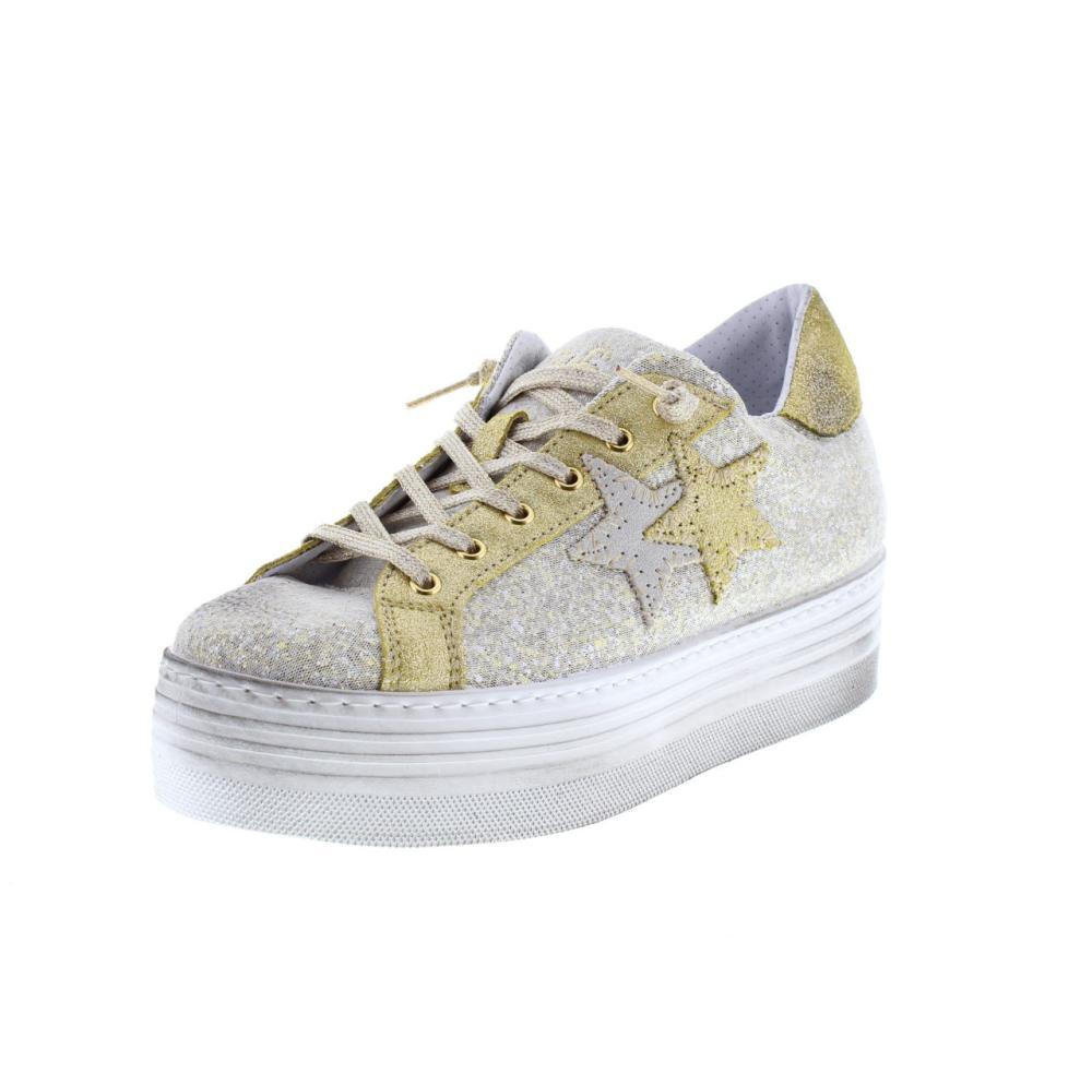 purchase cheap 07150 bb96c 2STAR sneaker plateau gold Shoes sneaker woman fashion 1877