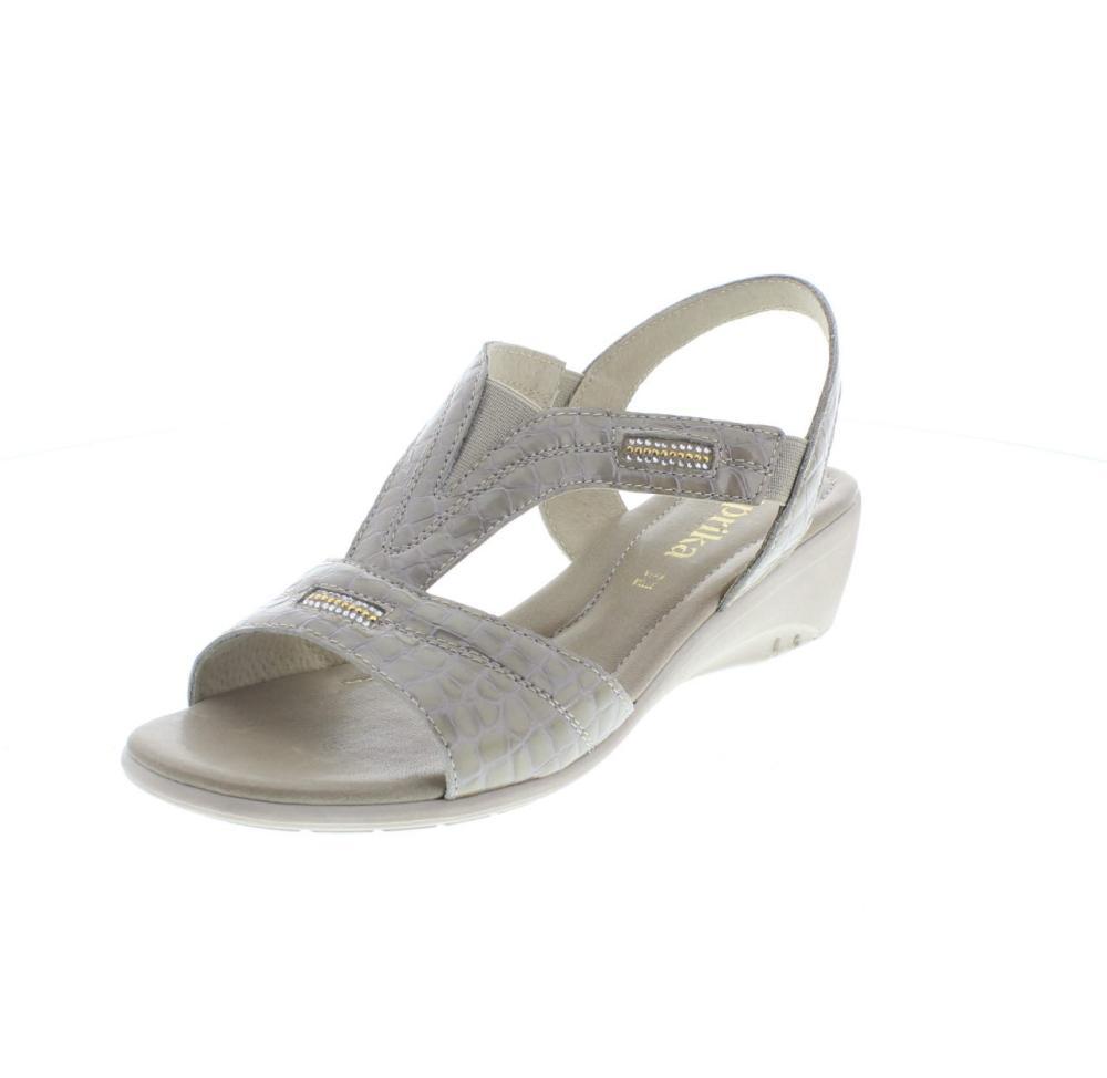 reputable site 681b7 04a29 PAPRIKA cocco beige Scarpe classico donna sandalo 242045