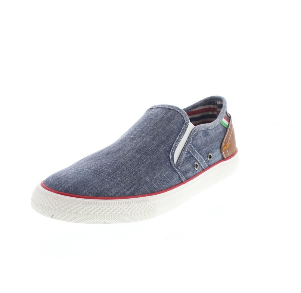 Canvas Sneakers Marina Militare Italiana Blue (44, Blue)