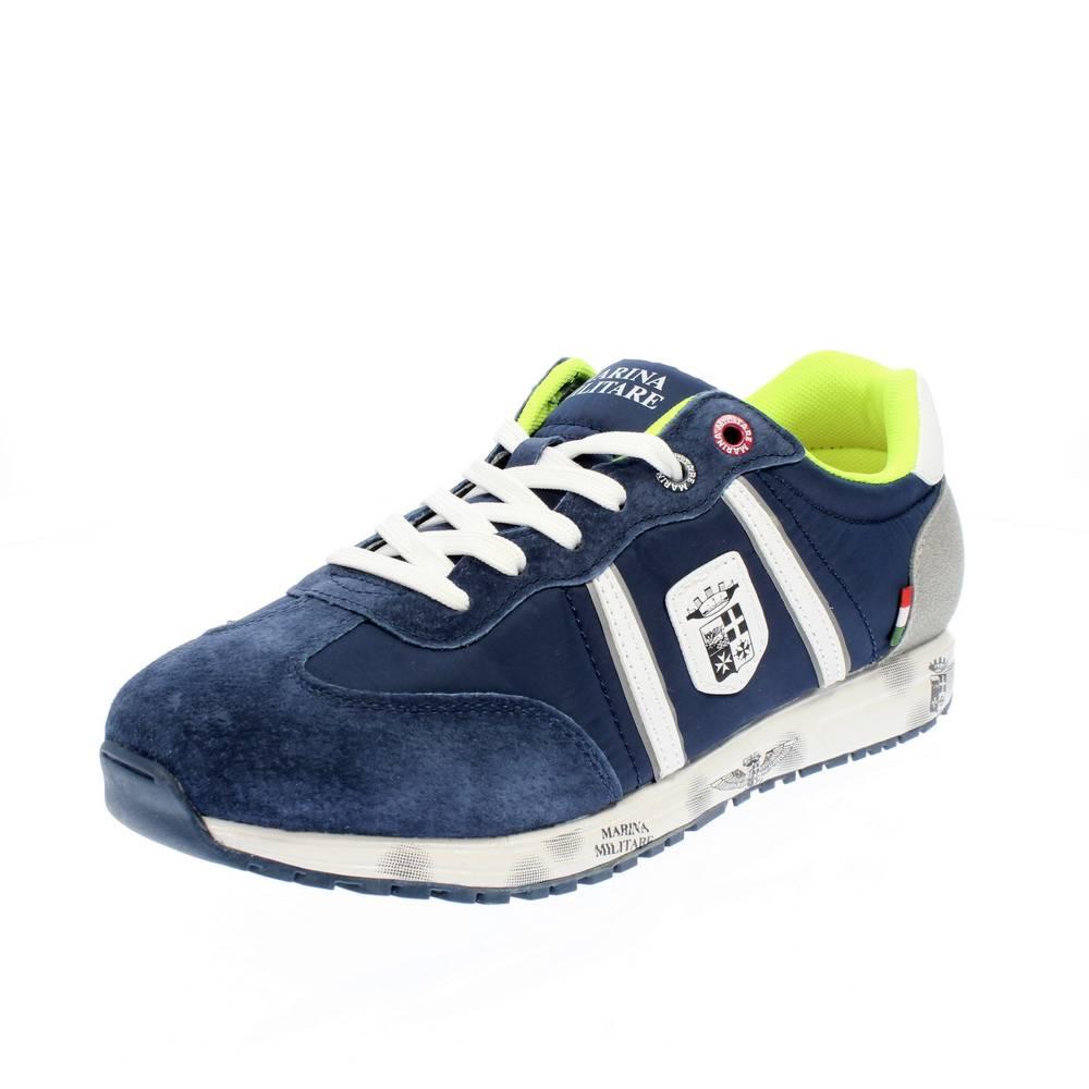 super popular 6acfa f07f9 MARINA MILITARE blu Scarpe sneaker uomo moda MM255
