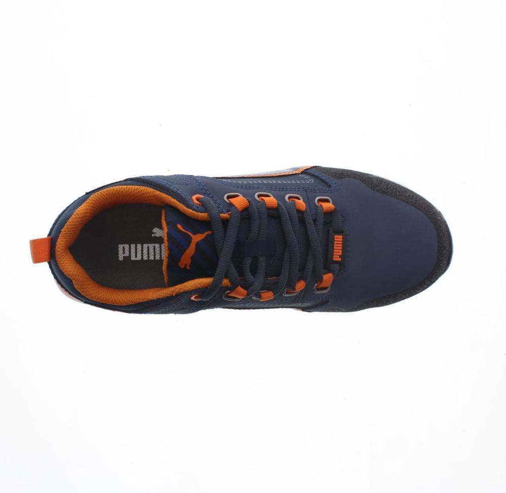 bbc9c39d316 PUMA SAFETY crossfit low blue Shoes safety shoe man work shoe 643100