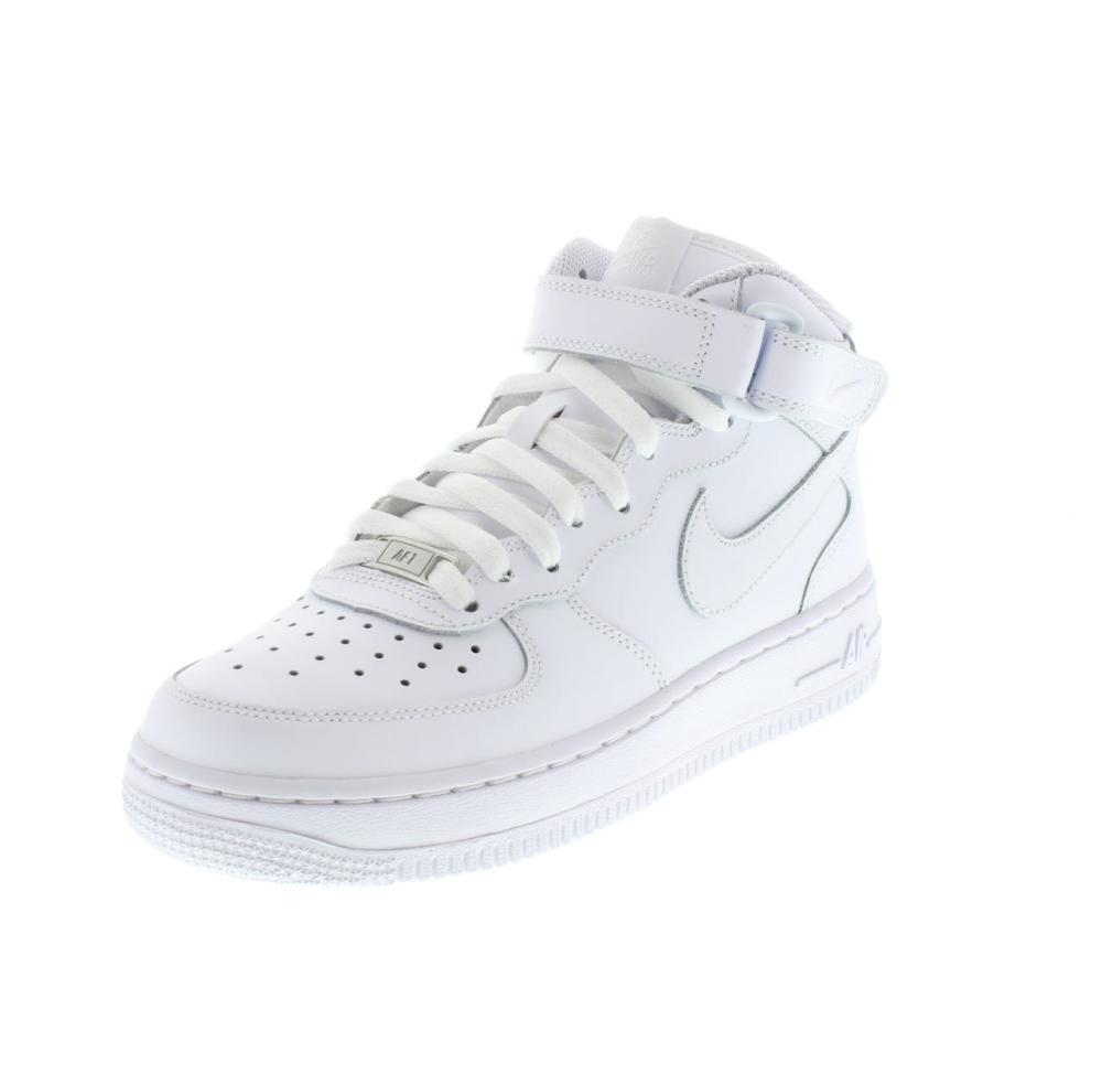 NIKE AIR GS air force 1 mid white Shoes sneaker girl sport 314195