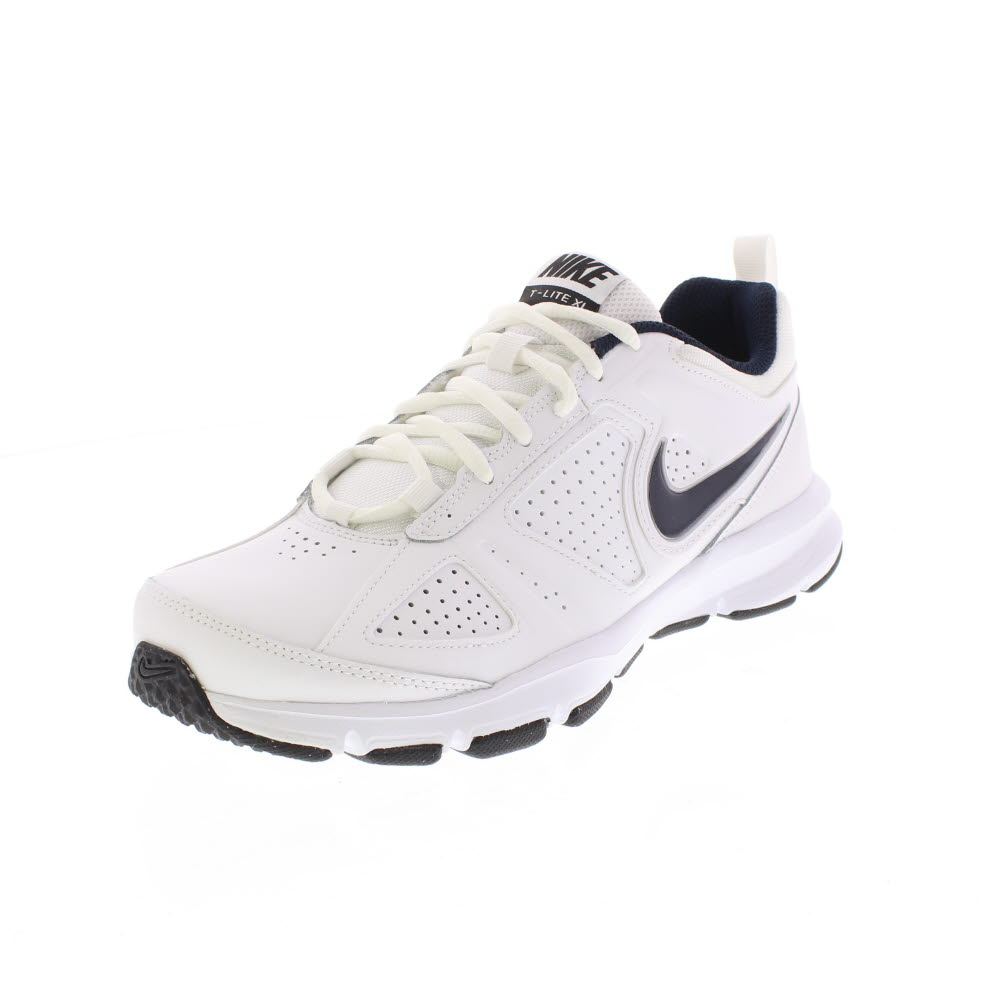 Nike T lite xi Blackblack metallic Silver Pelle Nera Uomo 616544 007 44