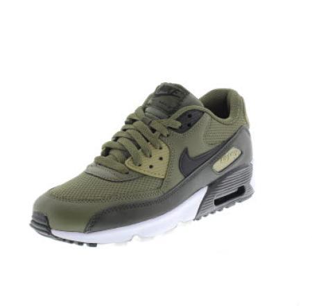 brand new 20424 56971 NIKE AIR GS air max 90 mesh green Shoes running boy sport 833418