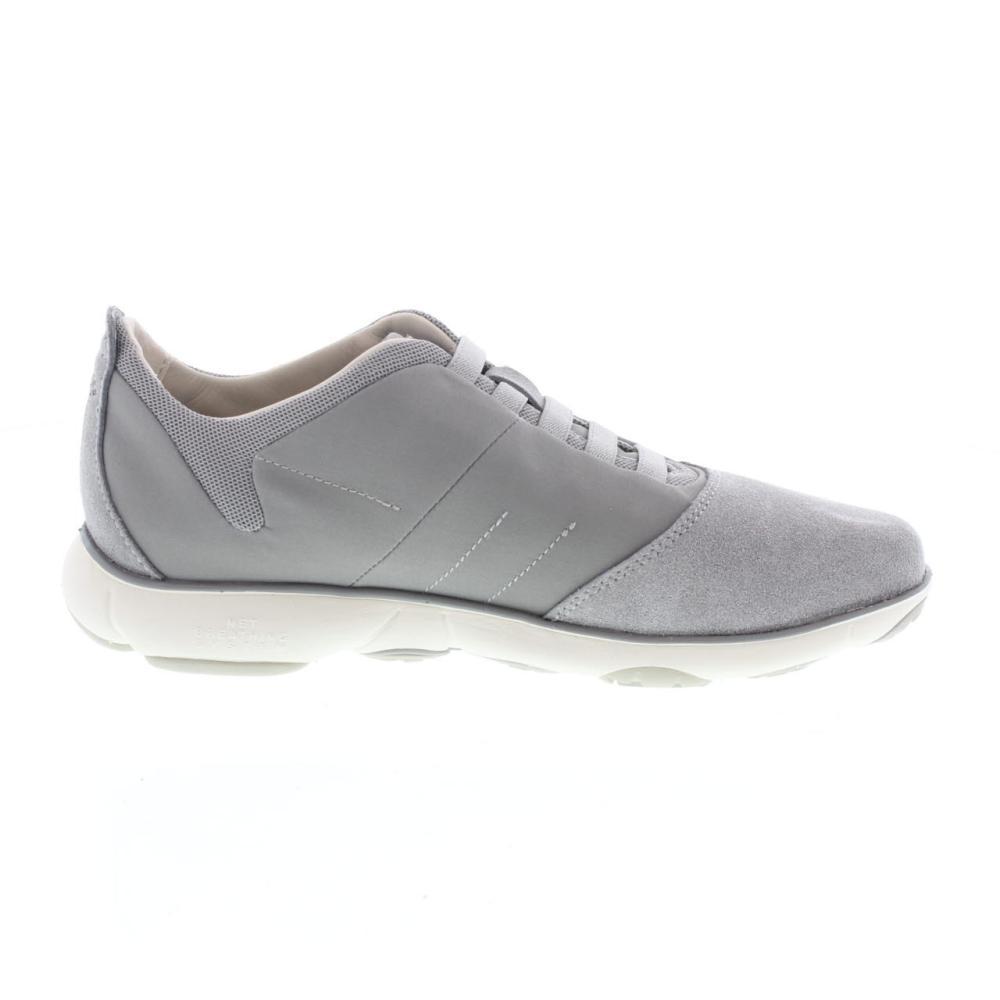 GEOX nebula grigio Scarpe sneaker uomo moda U52D7B