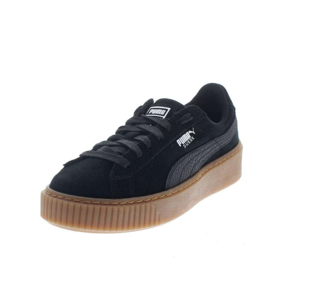 45367e64649 PUMA suede platform animal black Shoes sneaker woman sport 365109