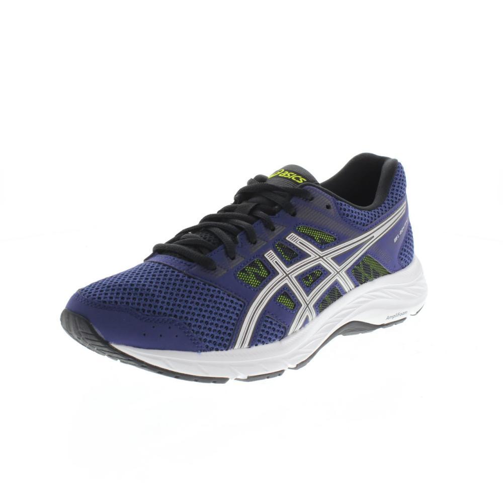 ASICS gel contend 5 blu Scarpe running uomo sport 1011A256