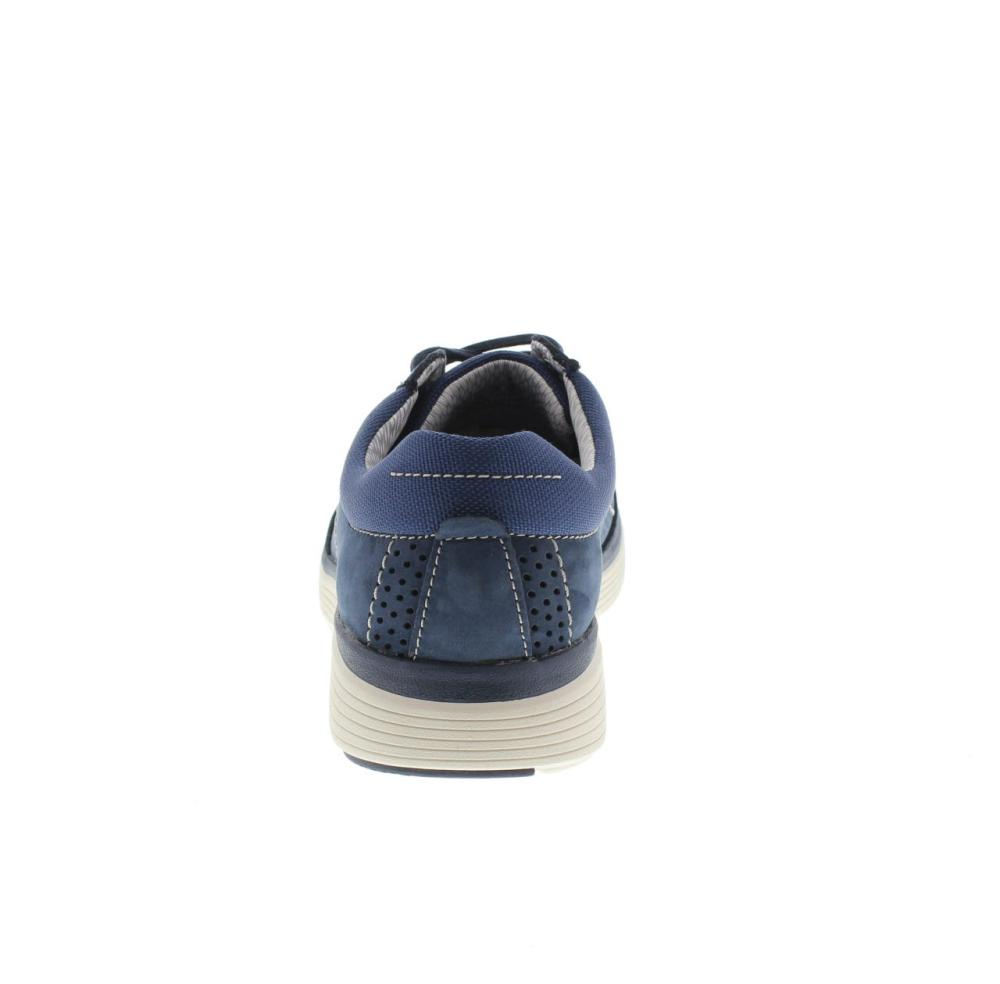 huge range of durable in use meet CLARKS un abode lace blue Shoes casual man fashion 132611
