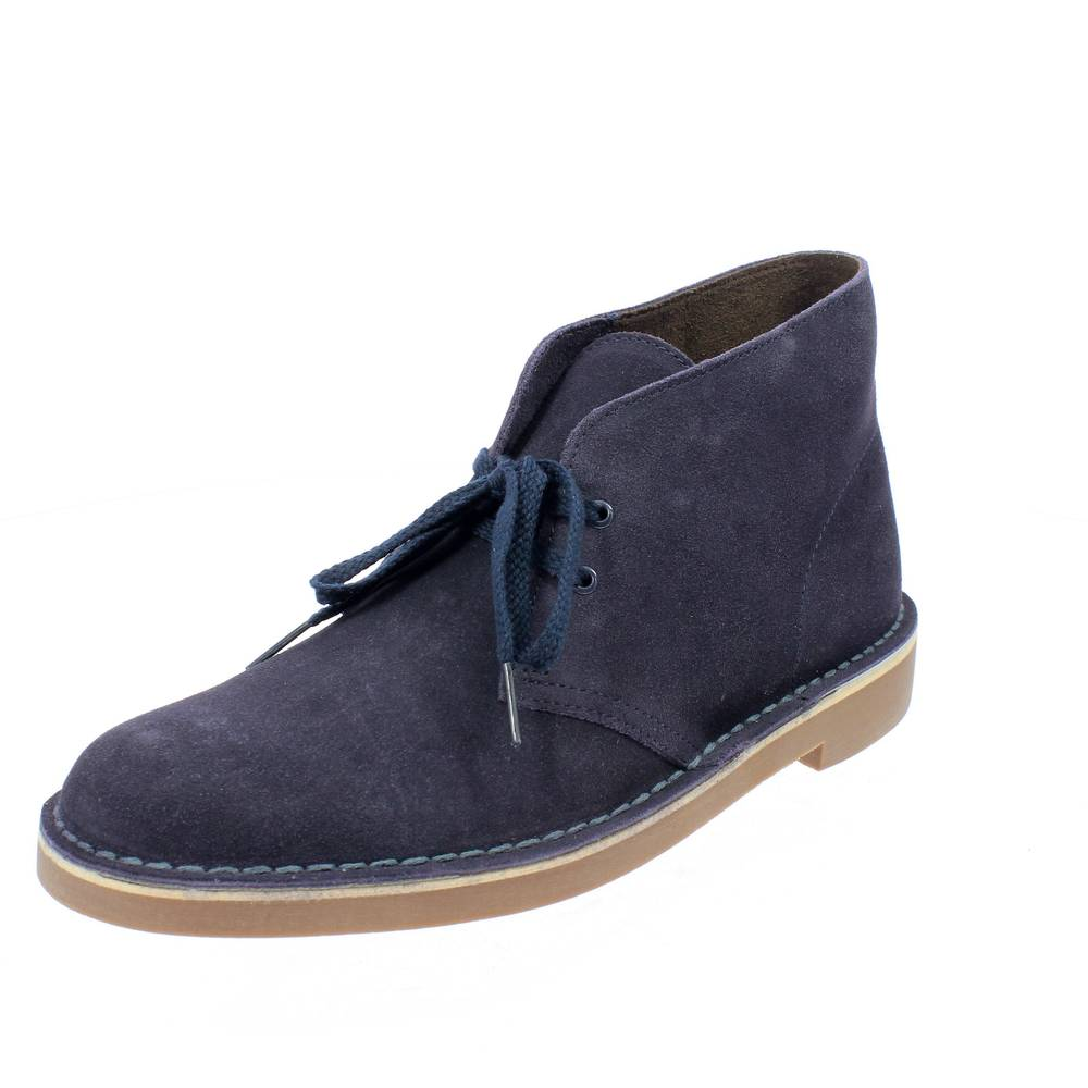 premium selection 67e85 a868f clarks blu suede