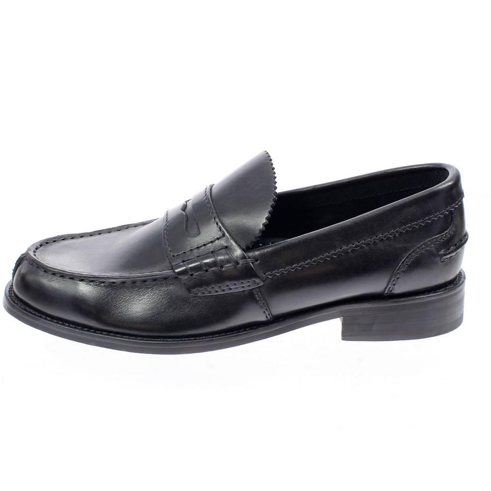 CLARKS beary loafer nero Scarpe college uomo classico 20 348634