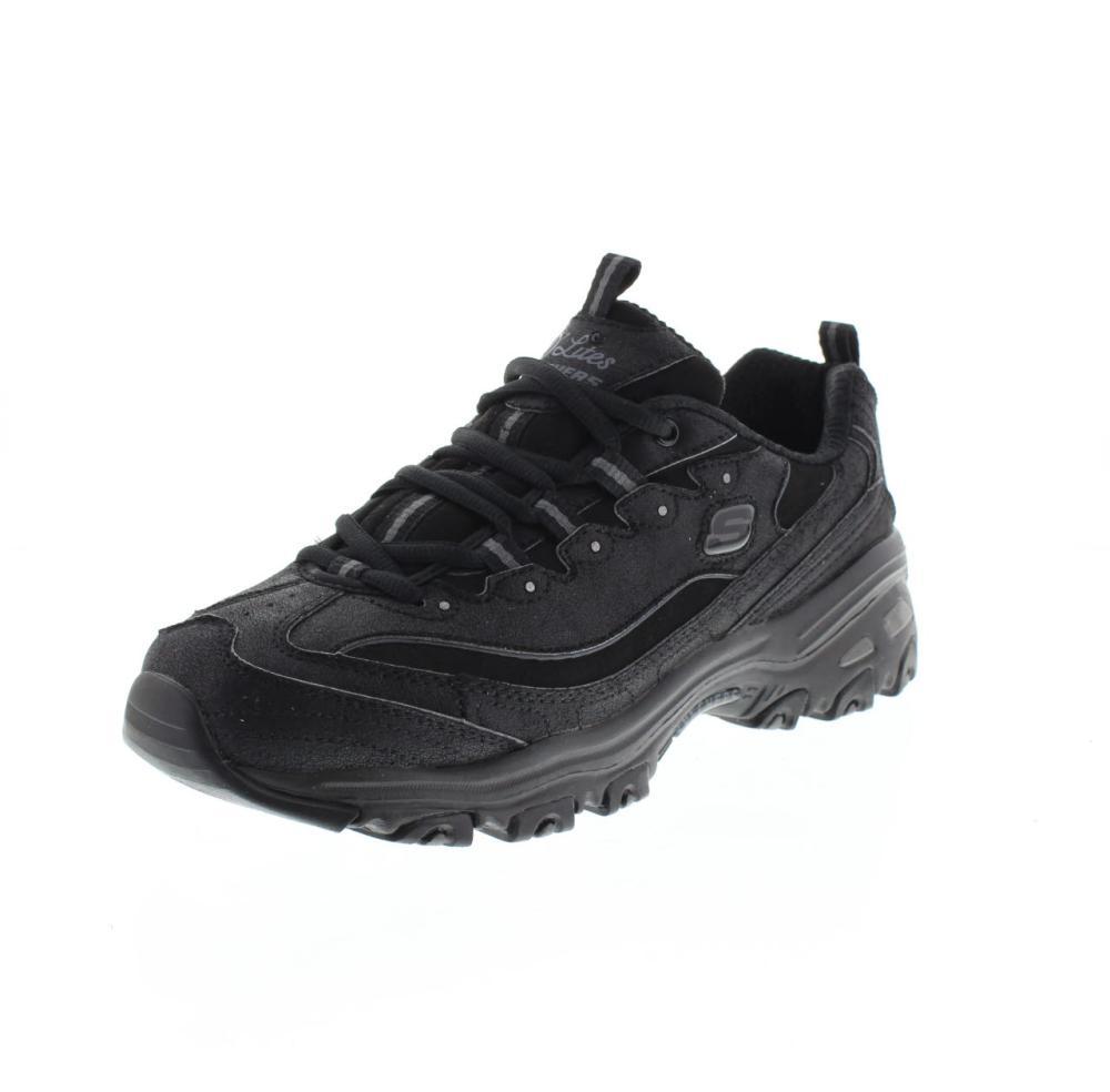 SKECHERS d'lite new school nero Scarpe sneaker donna moda 13085