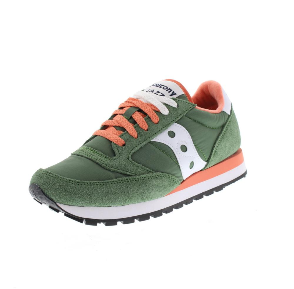 los angeles 76339 b2b62 SAUCONY jazz original green Shoes running woman sport 1044