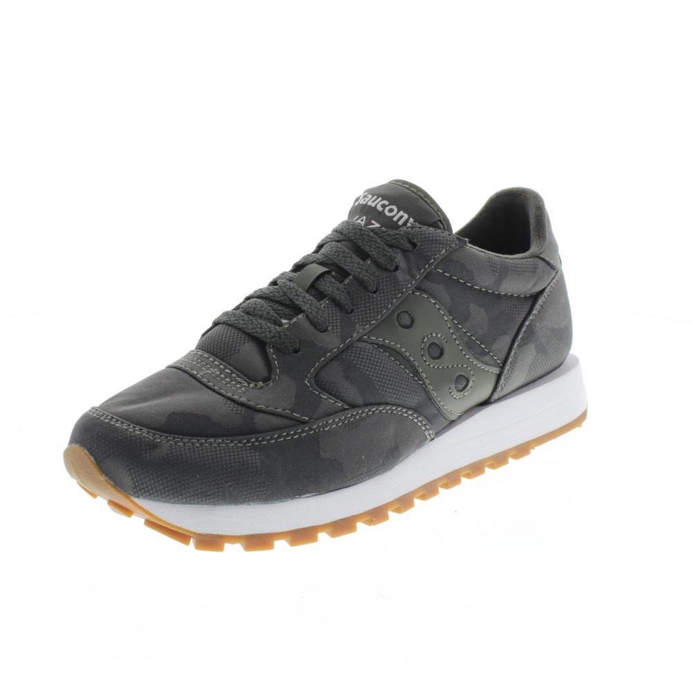 SAUCONY jazz original camo grey Shoes running man sport shoe 70445