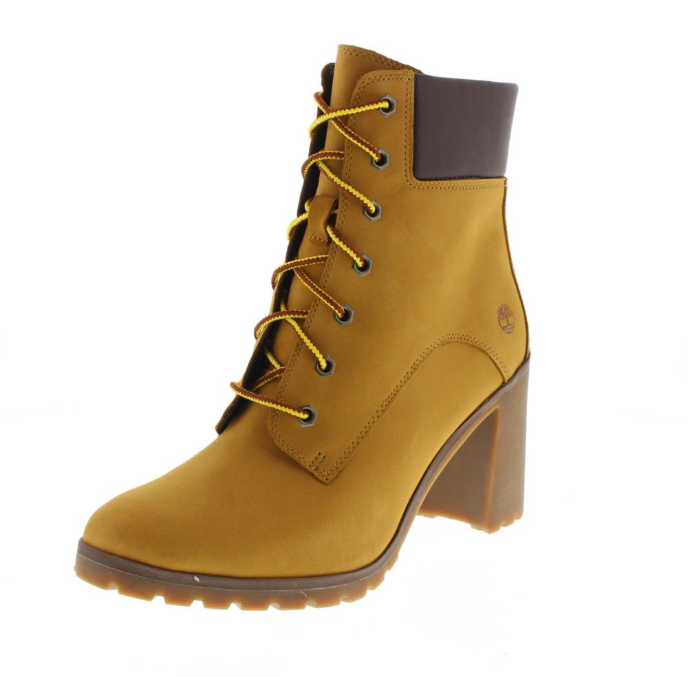 TIMBERLAND allington lace yellow Shoes ankle boot woman fashion A1HLS