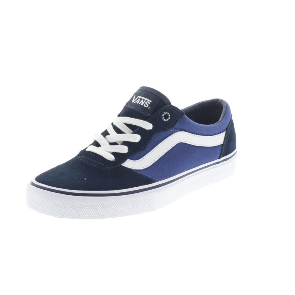 734d8c1fcca353 Shoes · Man · Sport shoe · Canvas  VANS milton blue. VANS milton Colour blue
