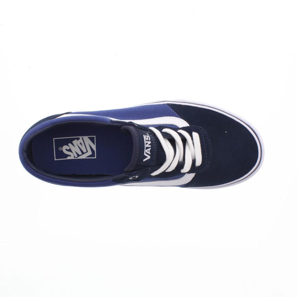 9f5d26ef90184d VANS milton blue Shoes canvas man sport shoe ZUV