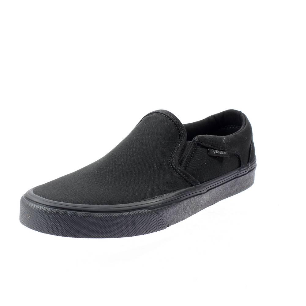 VANS asher black Man shoes slip on VN000SEQ