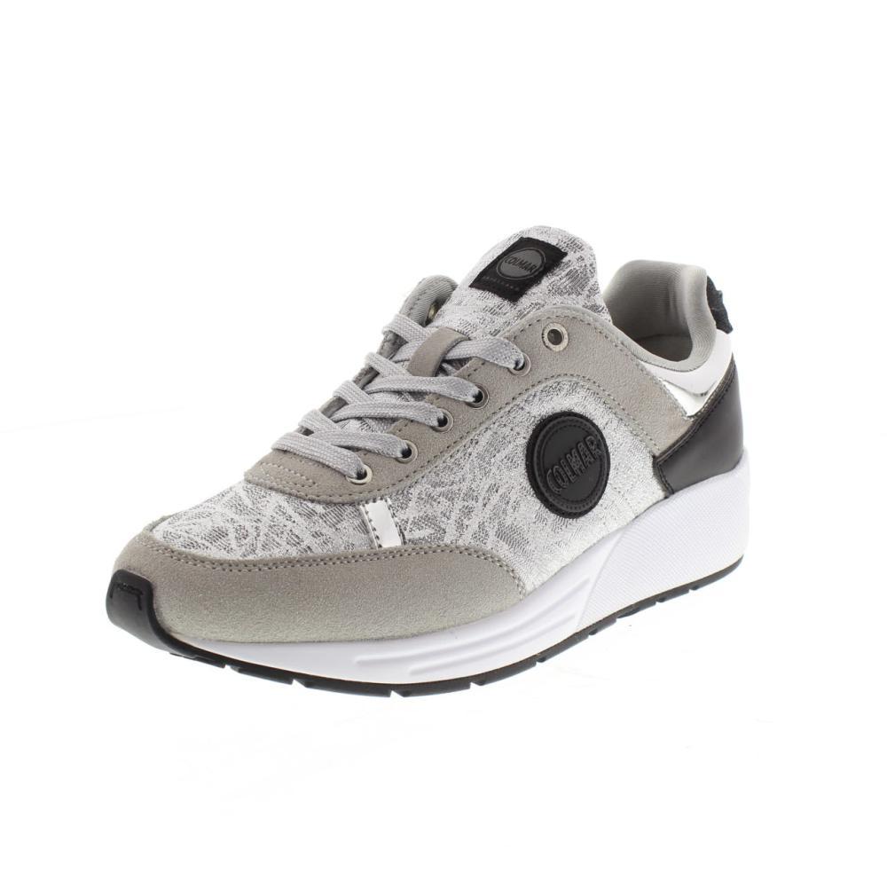 COLMAR argento Scarpe sneaker donna sport TRAVIS PUNK